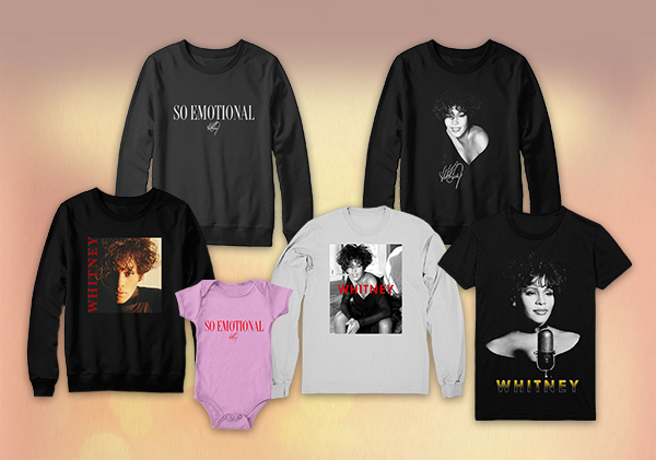Whitney Houston merchandise store