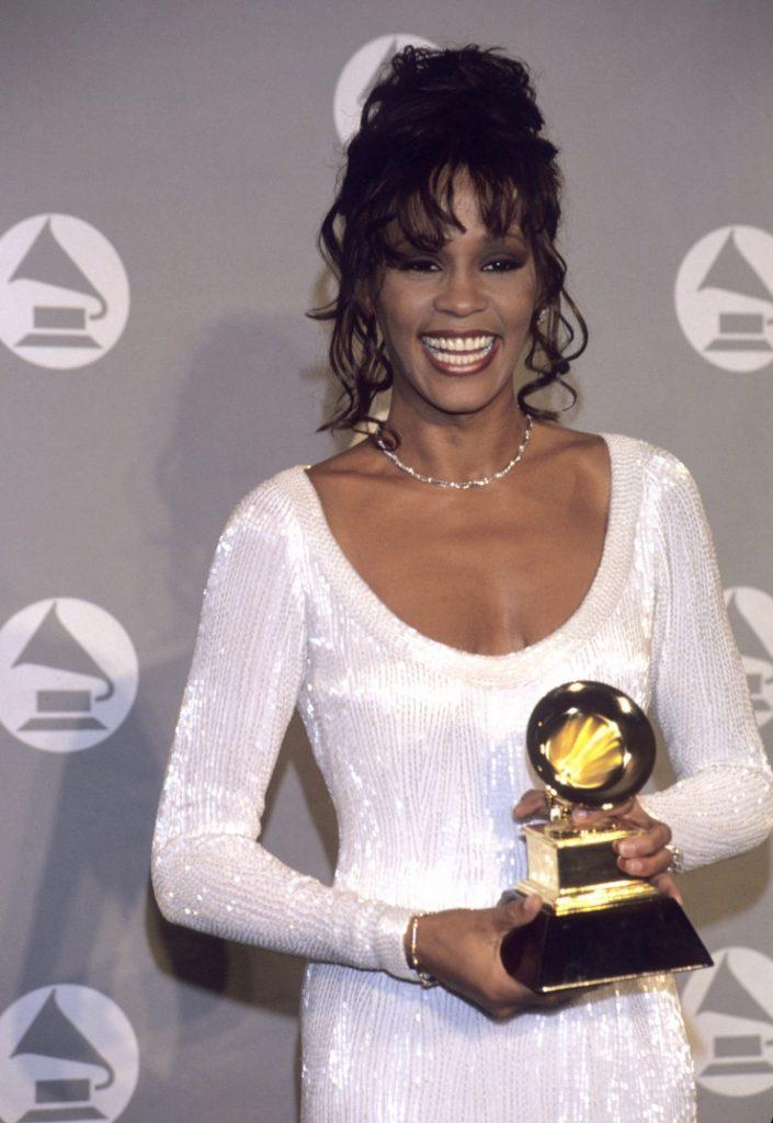 Whitney Houston at the 1994 GRAMMY Awards