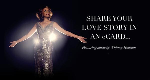 Whitney Houston eCard