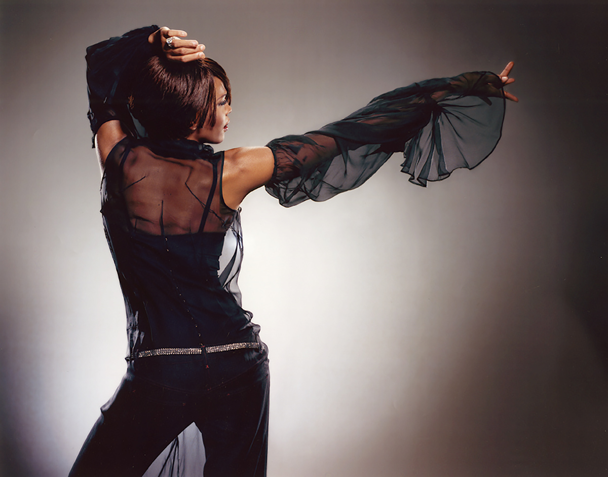 Whitney Houston My Love Is Your Love tour book photo shoot