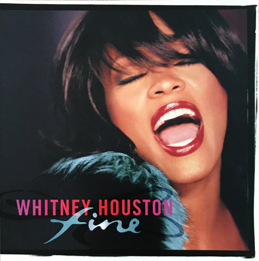 Whitney Houston - Fine single front cover