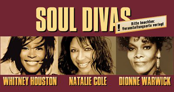 Whitney Houston, Natalie Cole & Dionne Warwick - Soul Divas Tour 2004