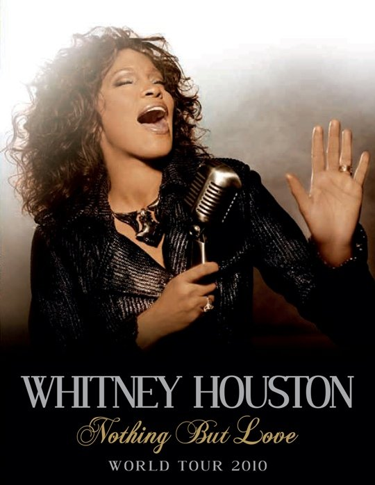 Whitney Houston Nothing But Love World Tour 2010
