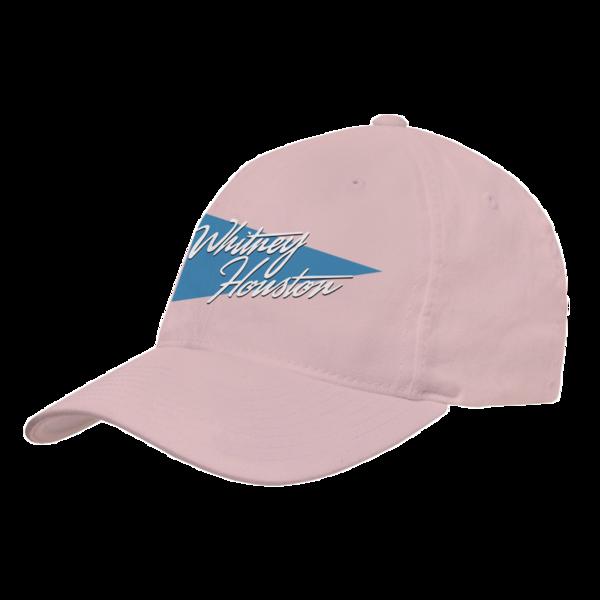 Script Triangle Logo Pink Hat