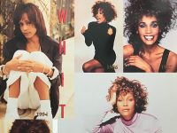 Whitney Houston European Tour front cover