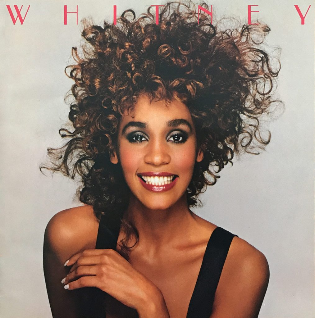 Whitney Houston Moment of Truth World Tour book front cover