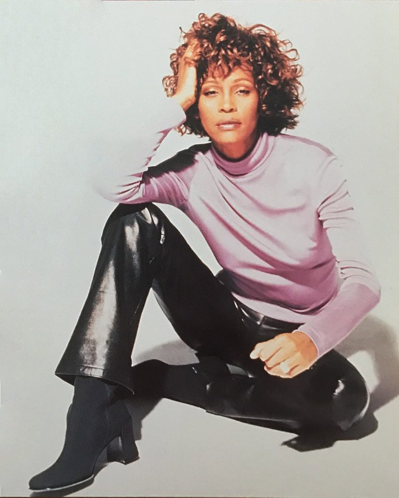 Whitney Houston Pacific Rim Tour front cover