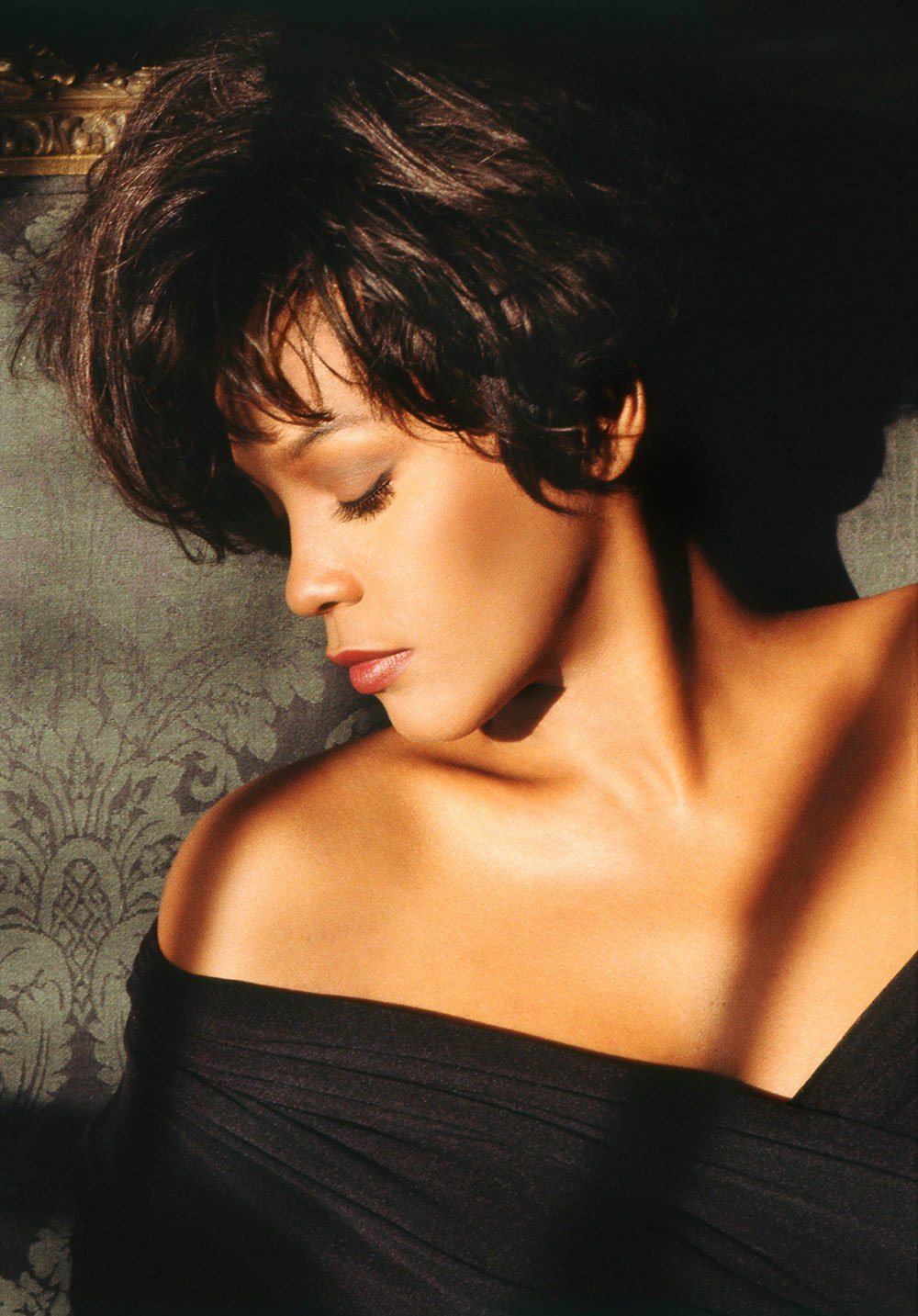 Whitney Houston The Bodyguard Soundtrack promotional photo by Randee St. Nicholas
