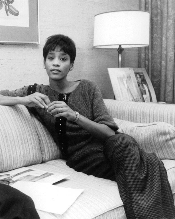 Whitney Houston early career photo