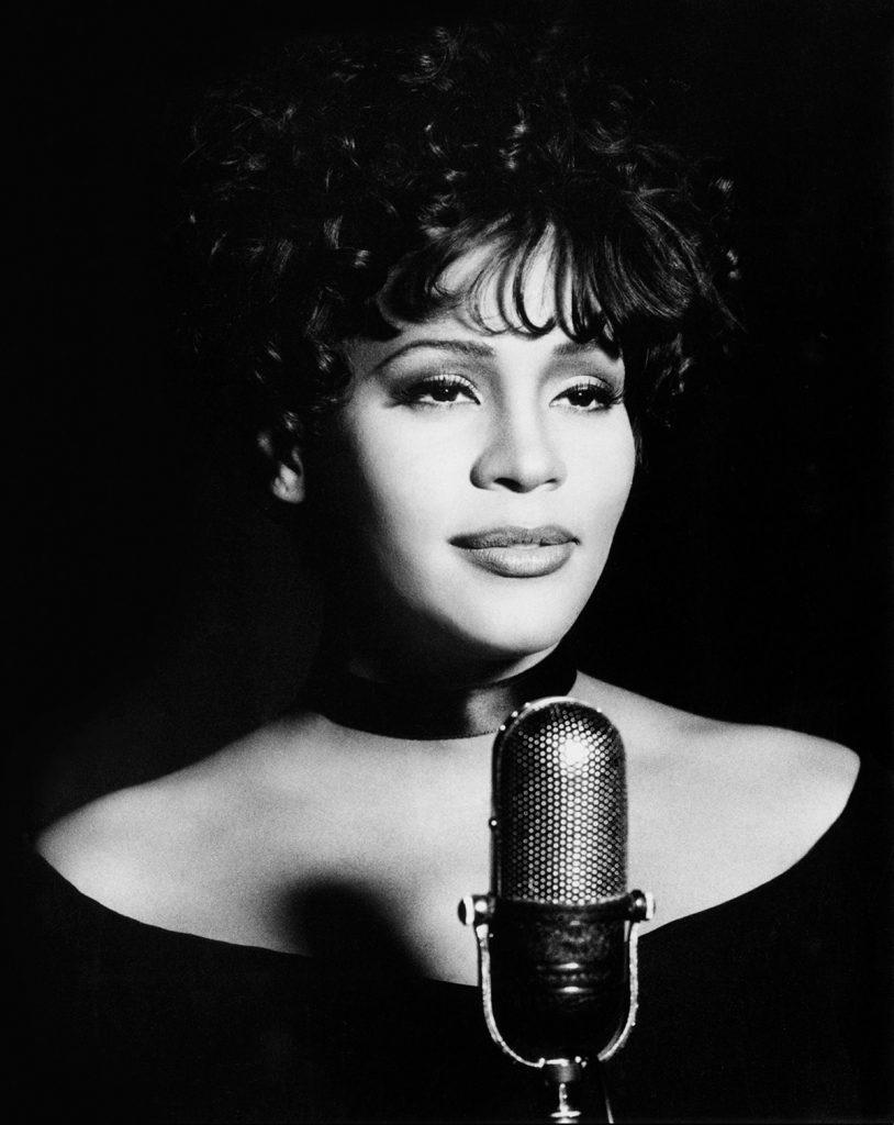 Whitney Houston The Bodyguard Soundtrack promotional photo by Randee St. Nicholas