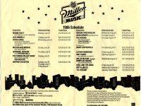 Whitney Houston at Miller Music Festival 1986 poster