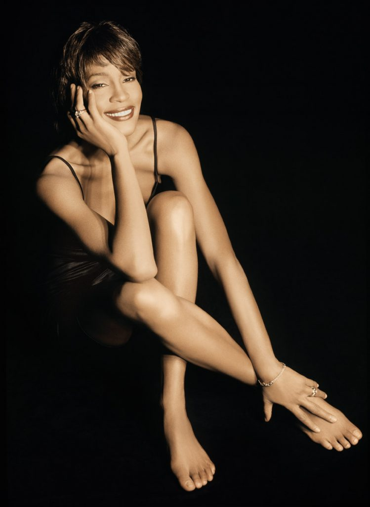 Whitney Houston Exhale (Shoop Shoop) music video shoot photo by Randee St. Nicholas