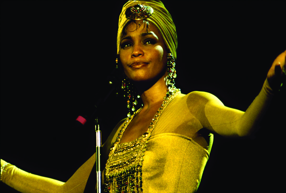 Whitney Houston performs in concert in South Africa 1994Houston performs in concert in South Africa