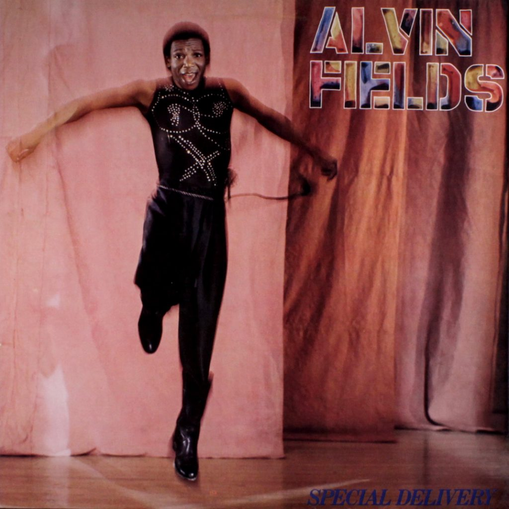 Alvin Fields - Special Delivery album front cover