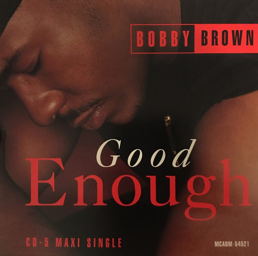 Bobby Brown - Good Enough single front cover