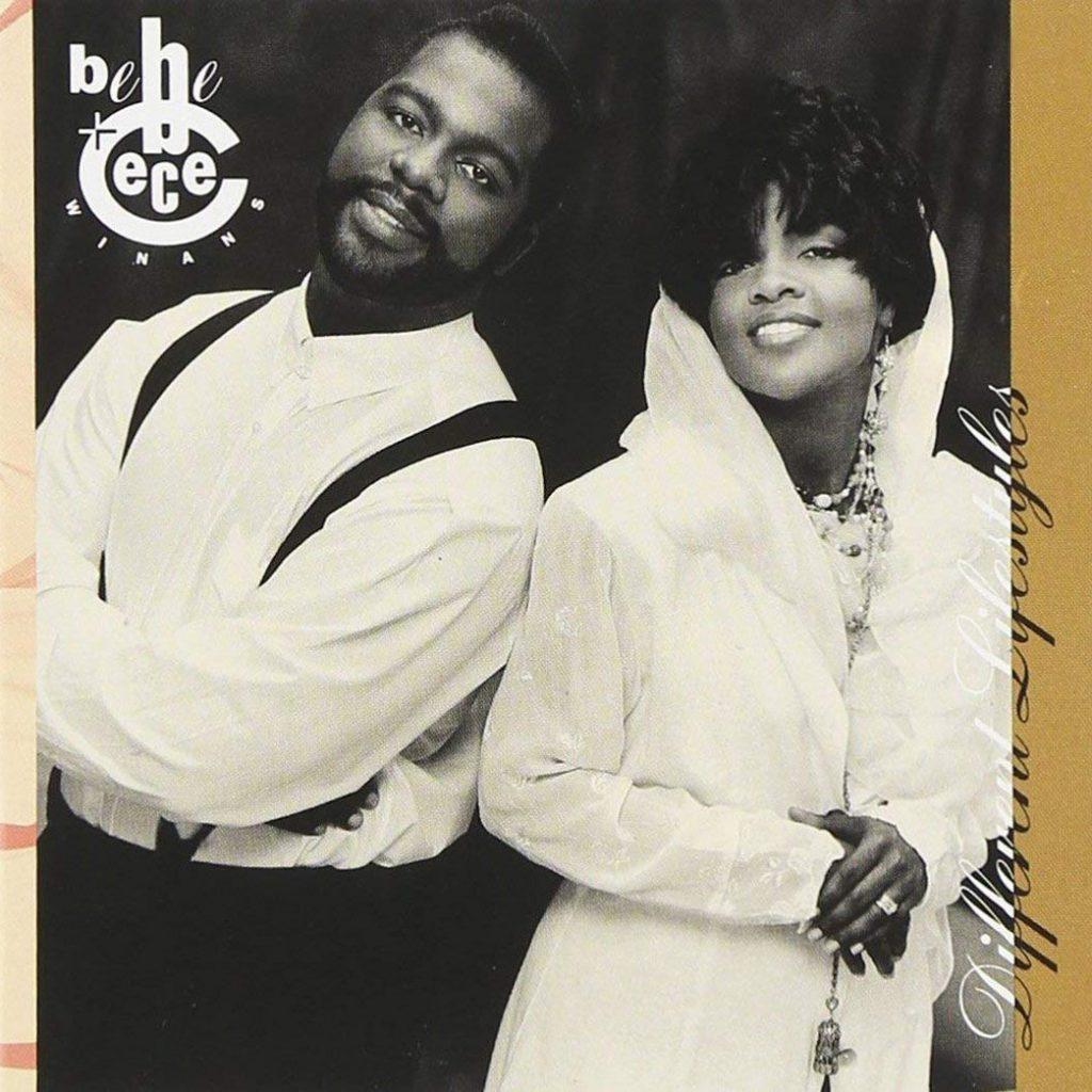 BeBe & CeCe Winans - Different Lifestyles album front cover