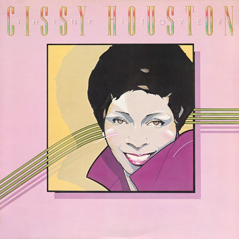 Cissy Houston - Think It Over album front cover