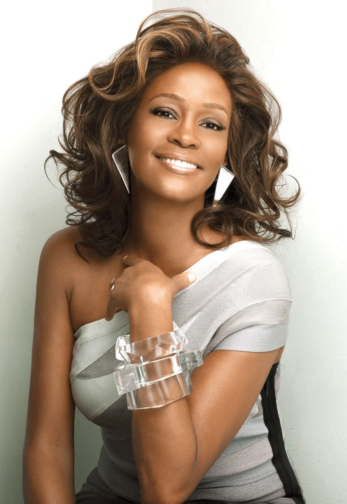 Whitney Houston I Look To You album photo shoot by Patrick Demarchelier