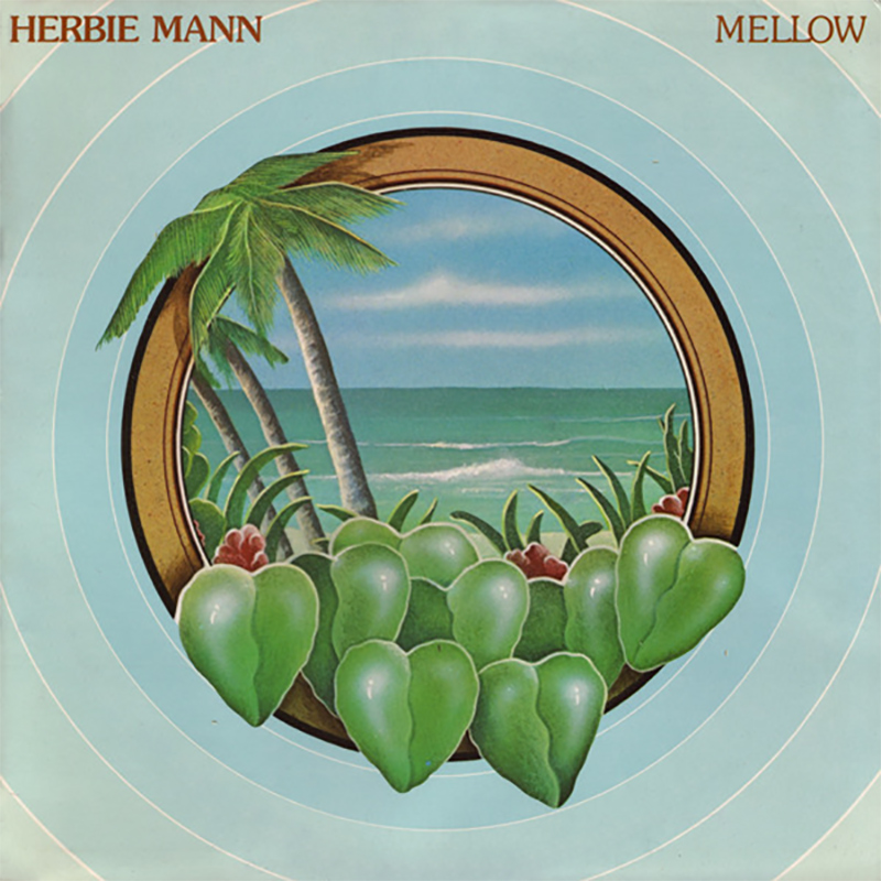 Herbie Mann - Mellow album front cover