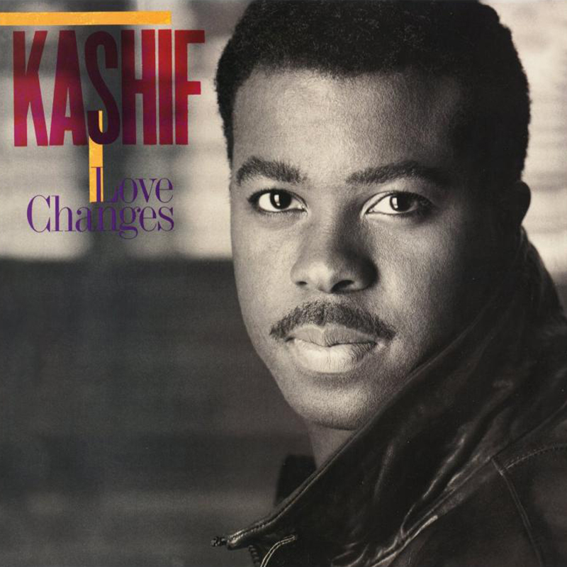 Kashif - Love Changes album front cover