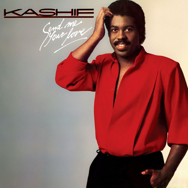 Kashif - Send Me Your Love album front cover