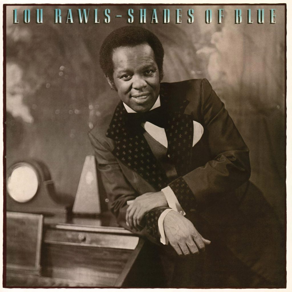 Lou Rawls - Shades Of Blue album front cover