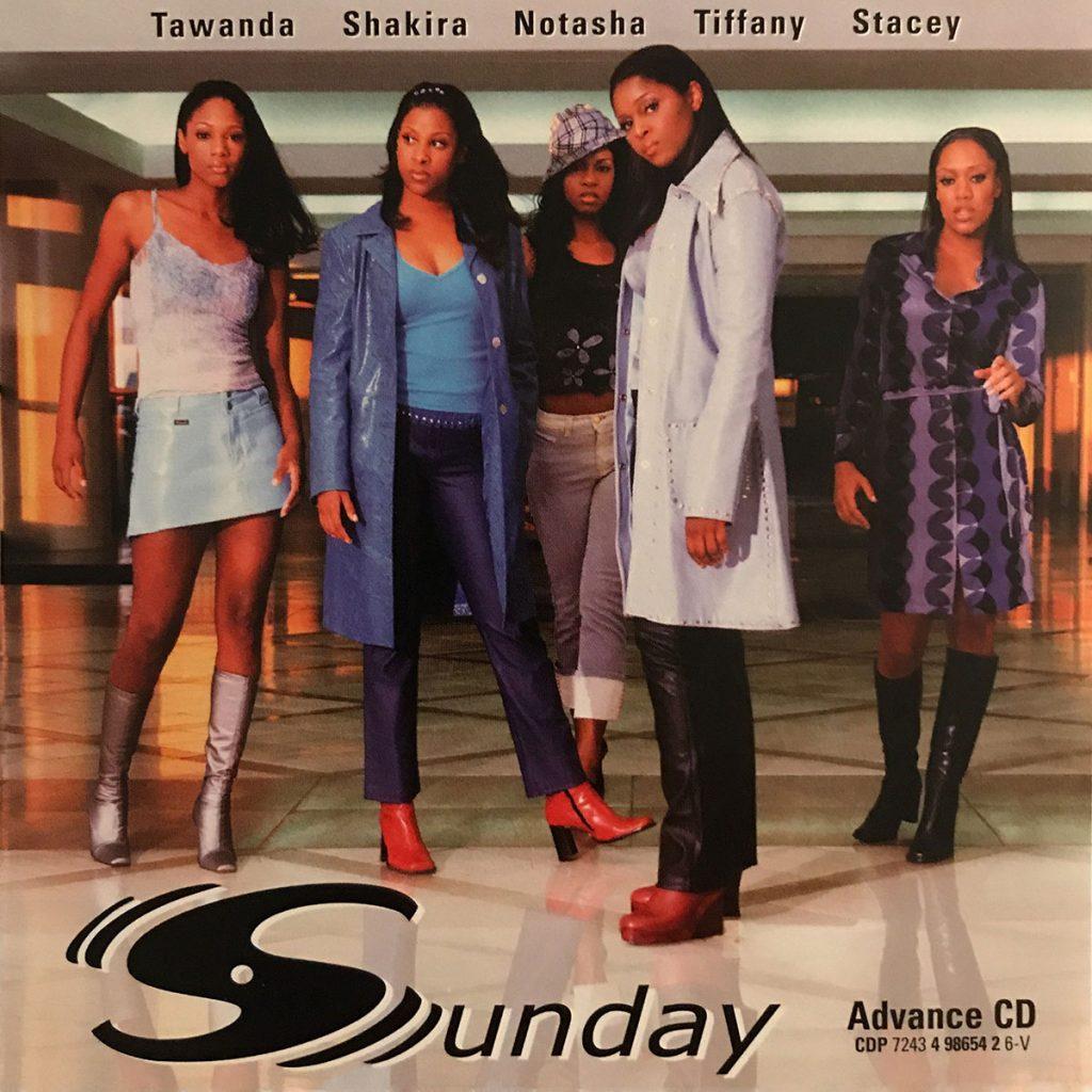 Sunday album promo CD front cover