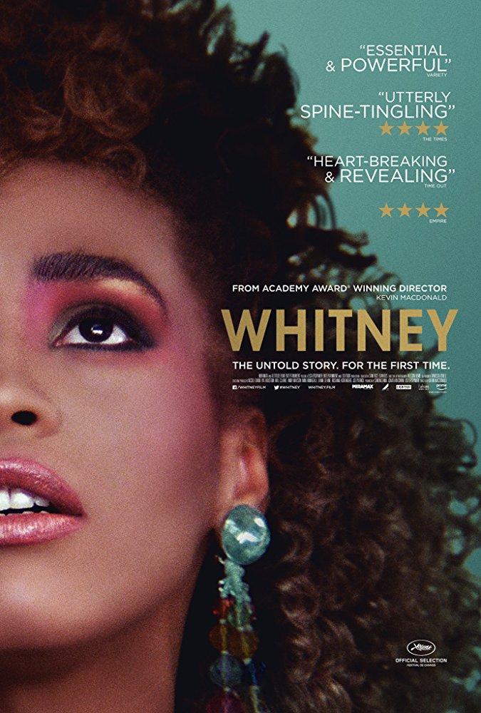Whitney documentary international poster