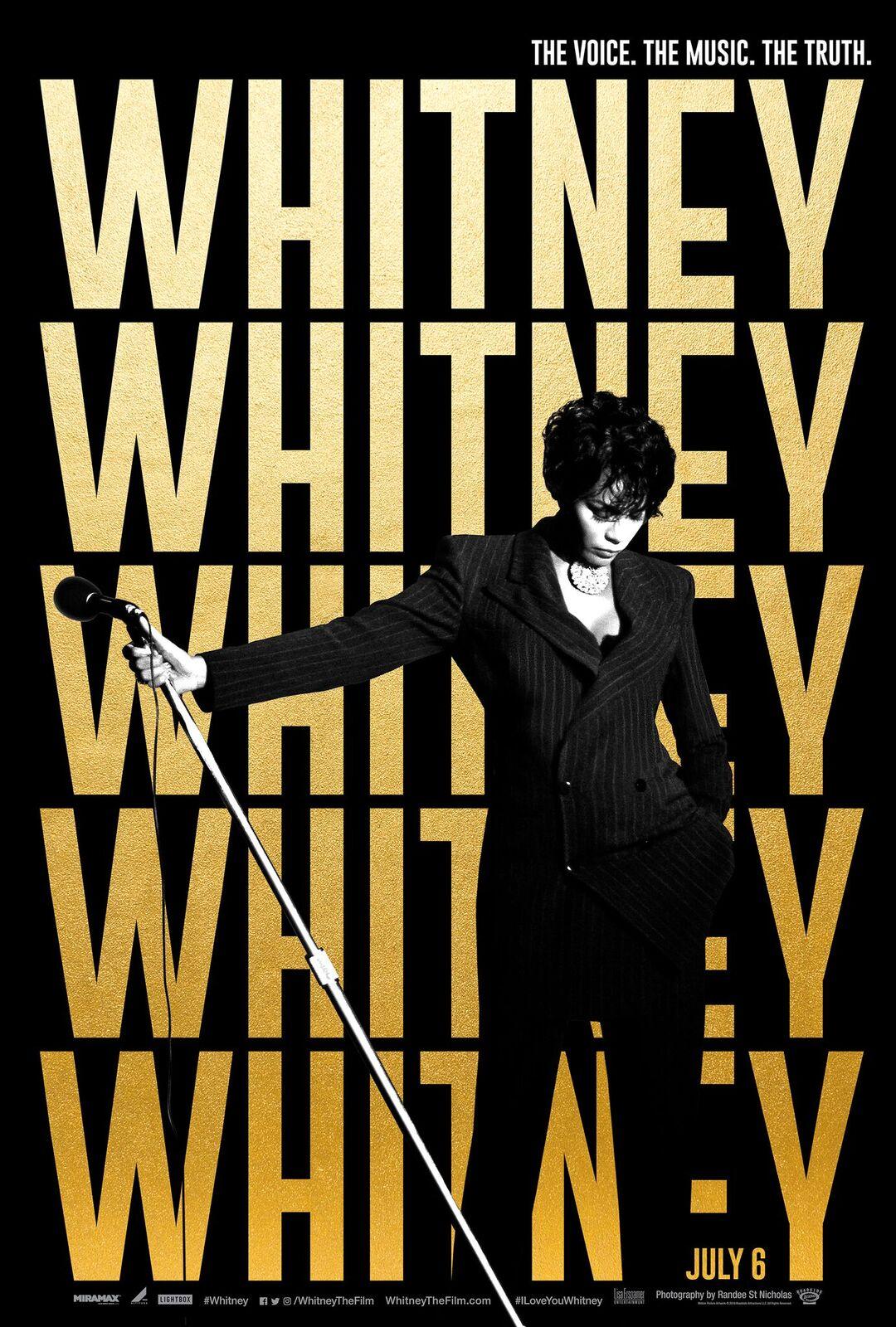 Whitney documentary teaser poster