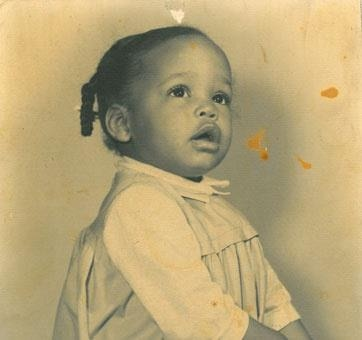 Whitney Houston baby picture