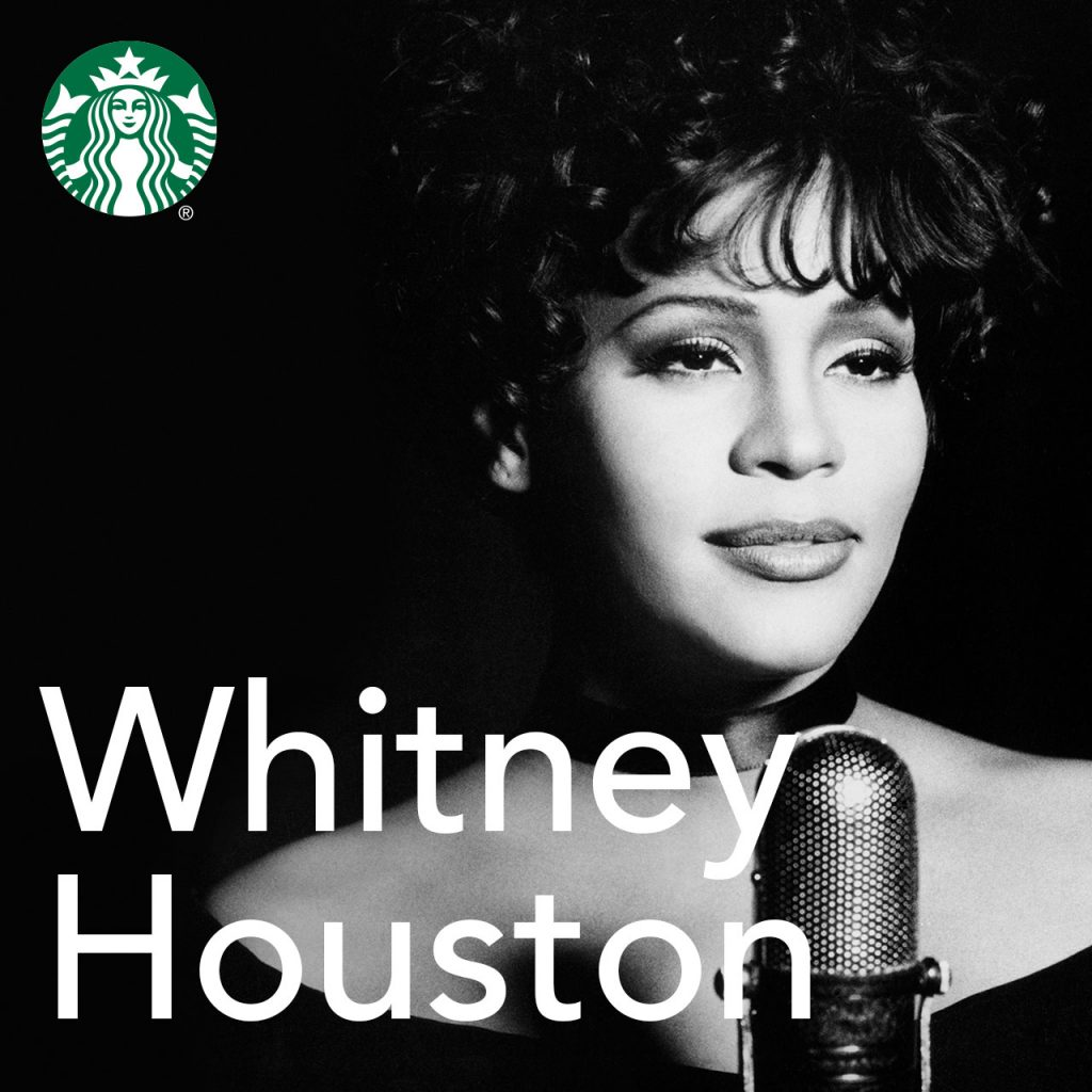 Whitney Houston music to to played in U.S. Starbucks stores August 9, 2018