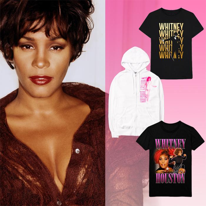 Whitney Houston merch