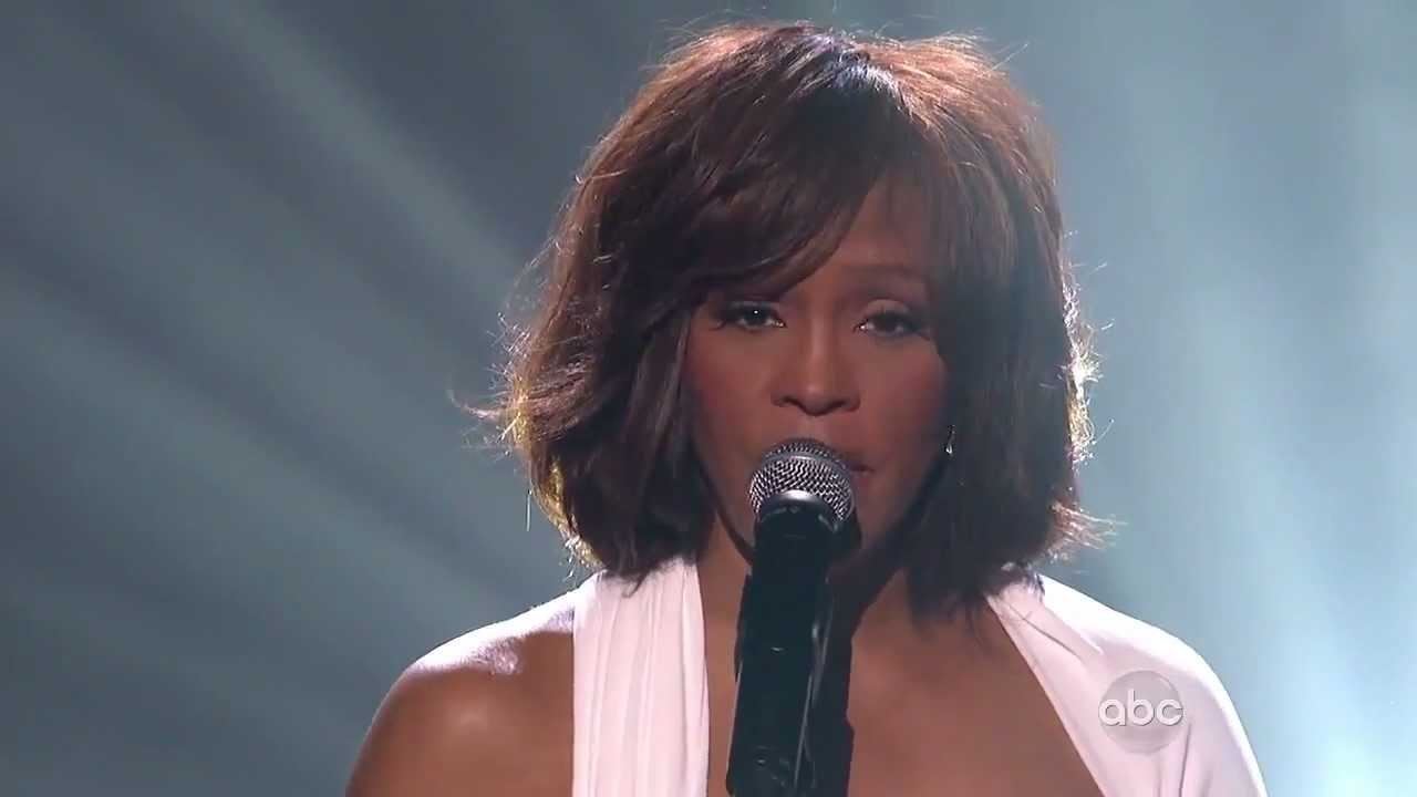 Whitney Houston performs at American Music Awards in 2009