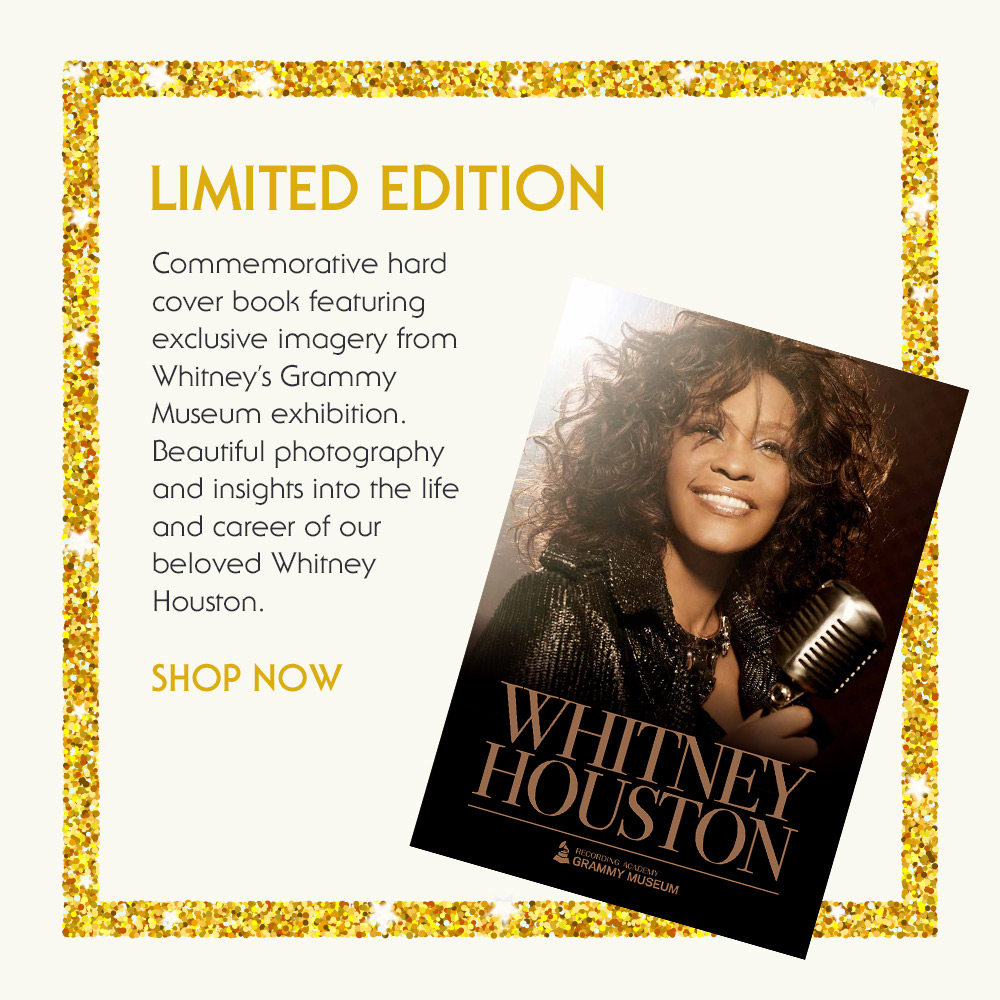 Whitney Houston GRAMMY Museum book