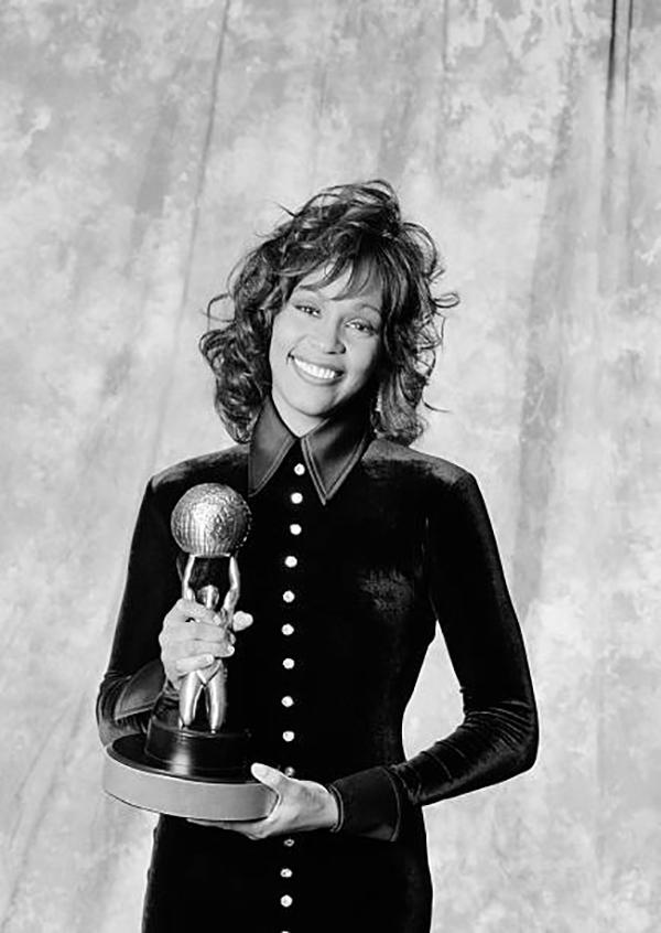 Whitney Houston at NAACP Image Awards January 5, 1994