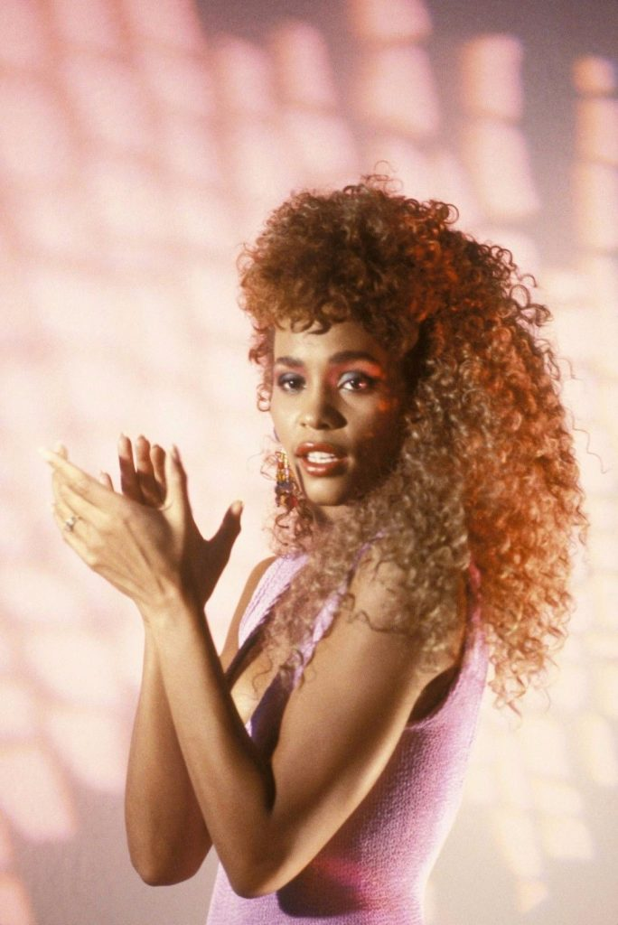 Whitney Houston in I Wanna Dance With Somebody (Who Loves Me) music video