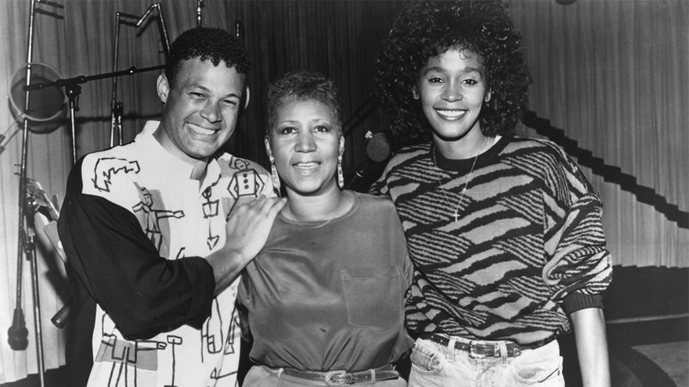 Whitney Houston, Aretha Franklin and Narada Michael Walden