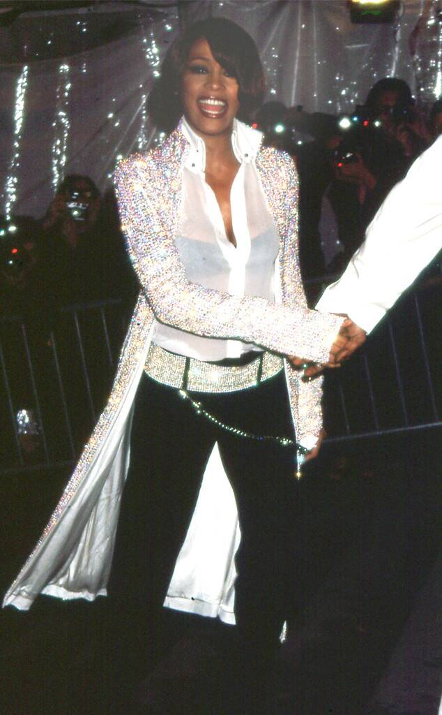 Whitney Houston attends Met Gala in New York in 1999
