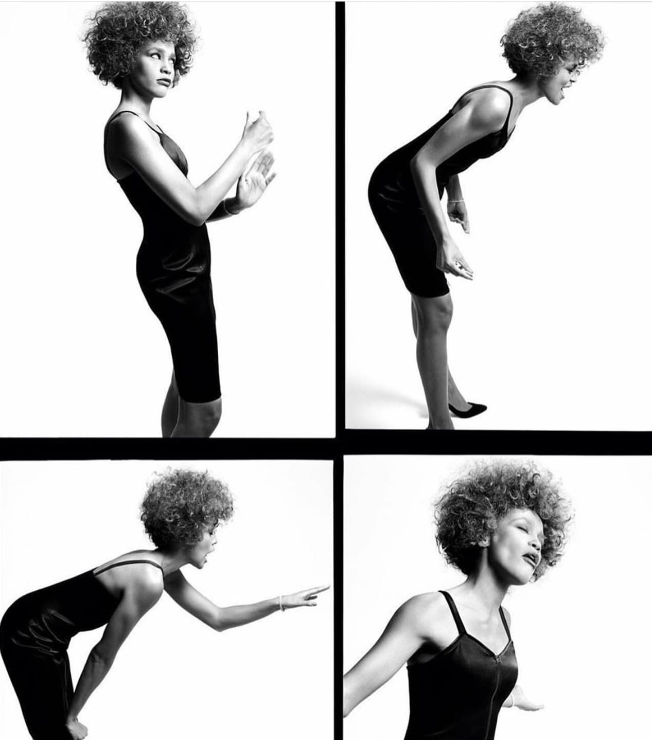 Whitney Houston photo by Steven Meisel in British Vogue June 2019 issue
