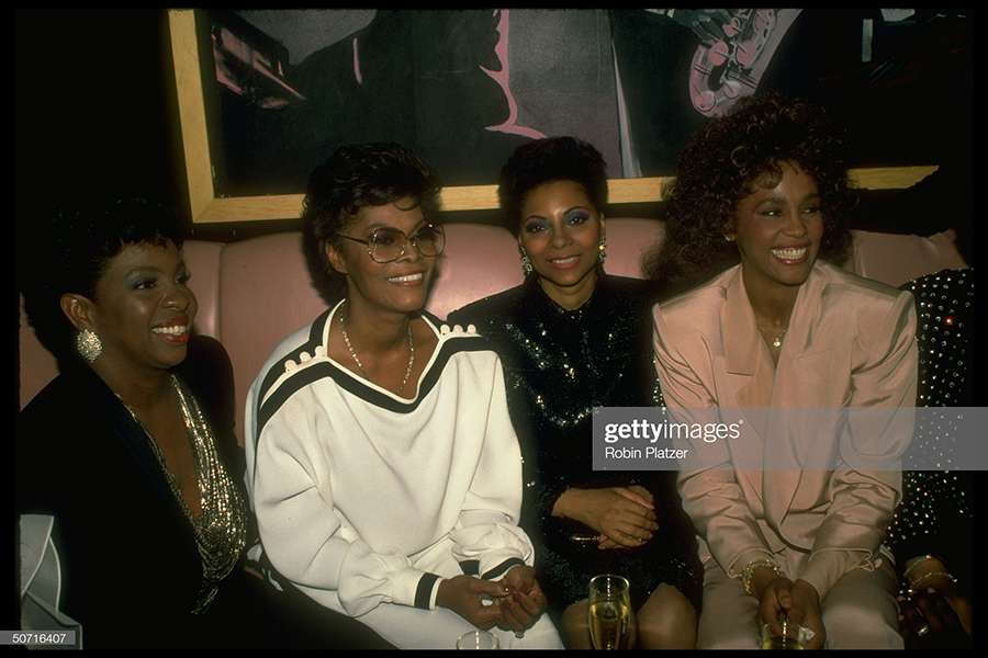 Gladys Knight, Dionne Warwick, Leslie Uggums and Whitney