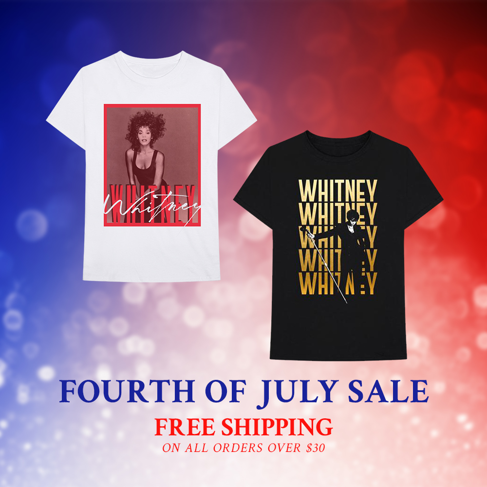Whitney Houston official store July 4th sale