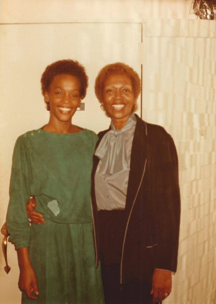 Whitney Houston and Cissy Houston at Sweetwater's in New York City early 1980s