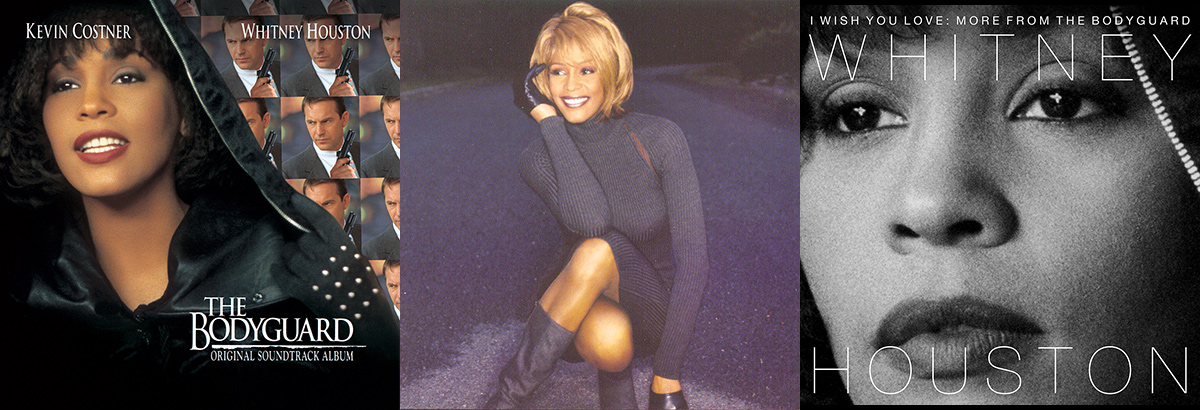 Whitney Houston The Bodyguard soundtrack, My Love Is Your Love, and I Wish You Love: More From The Bodyguard