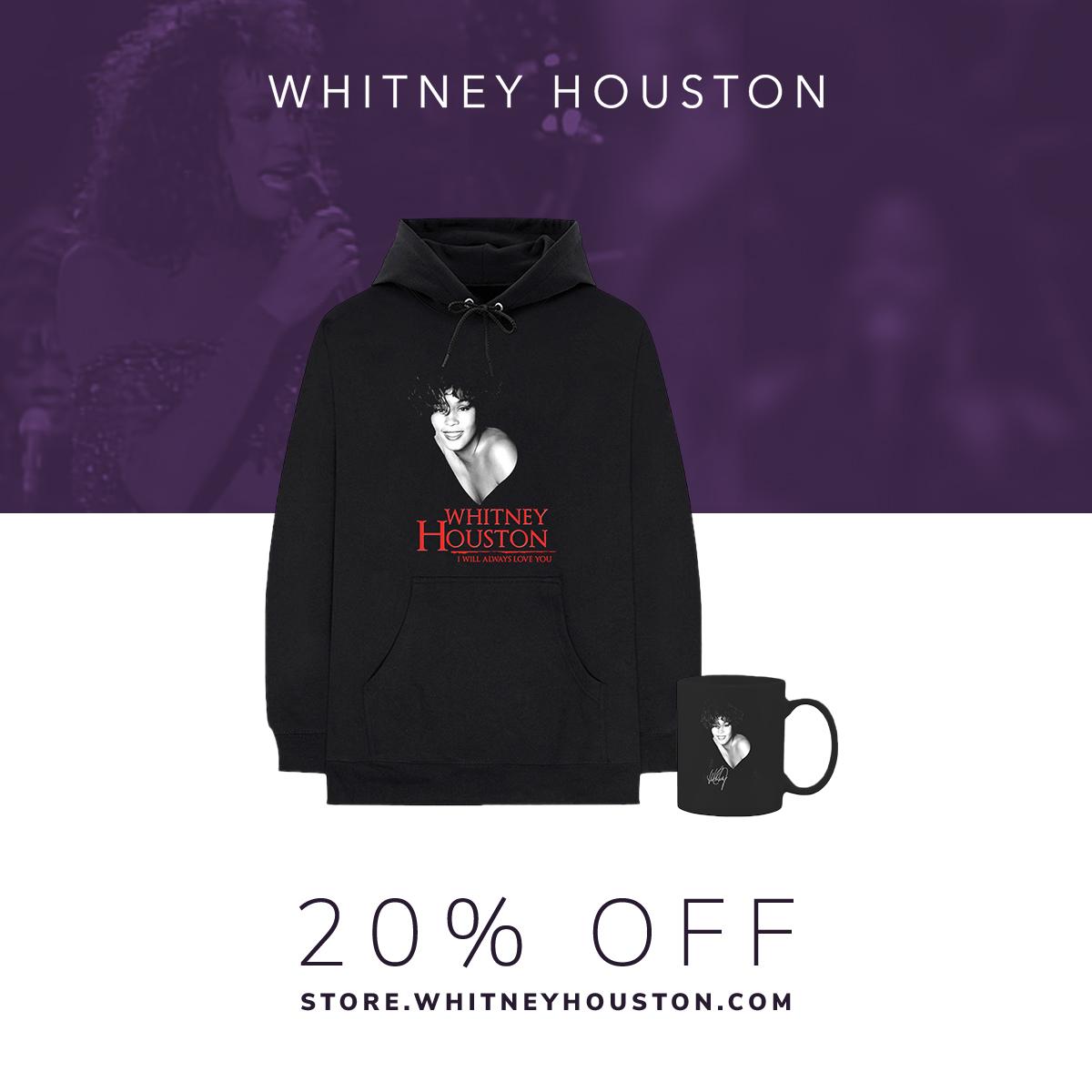 Whitney Houston merchandise Black Friday sale