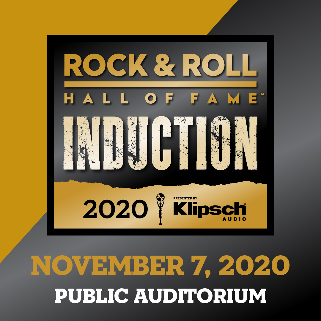 Rock & Roll Hall of Fame induction November 7, 2020