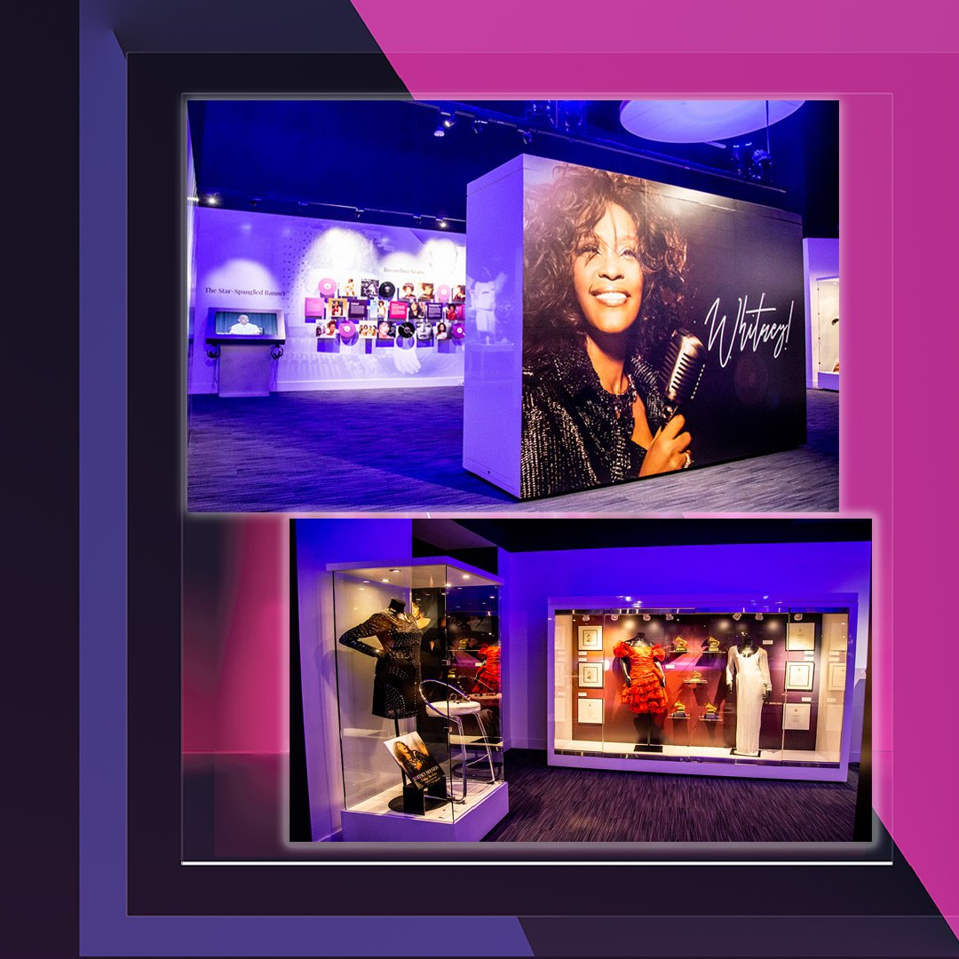 Whitney! GRAMMY Museum digital exhibit