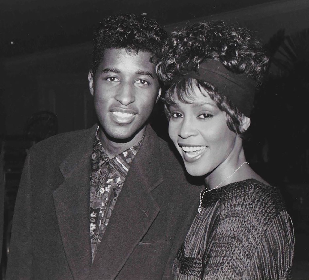 Whitney Houston and Babyface
