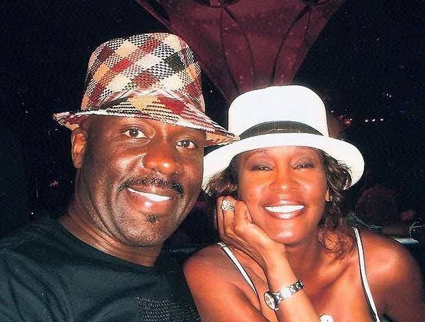Whitney Houston and BeBe Winans