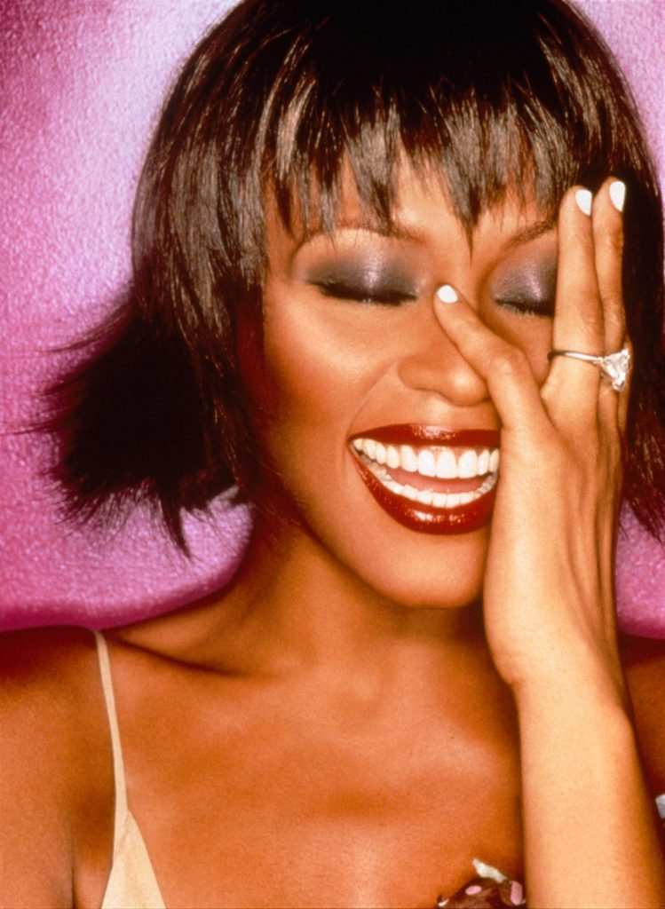 Whitney Houston photo by David LaChapelle