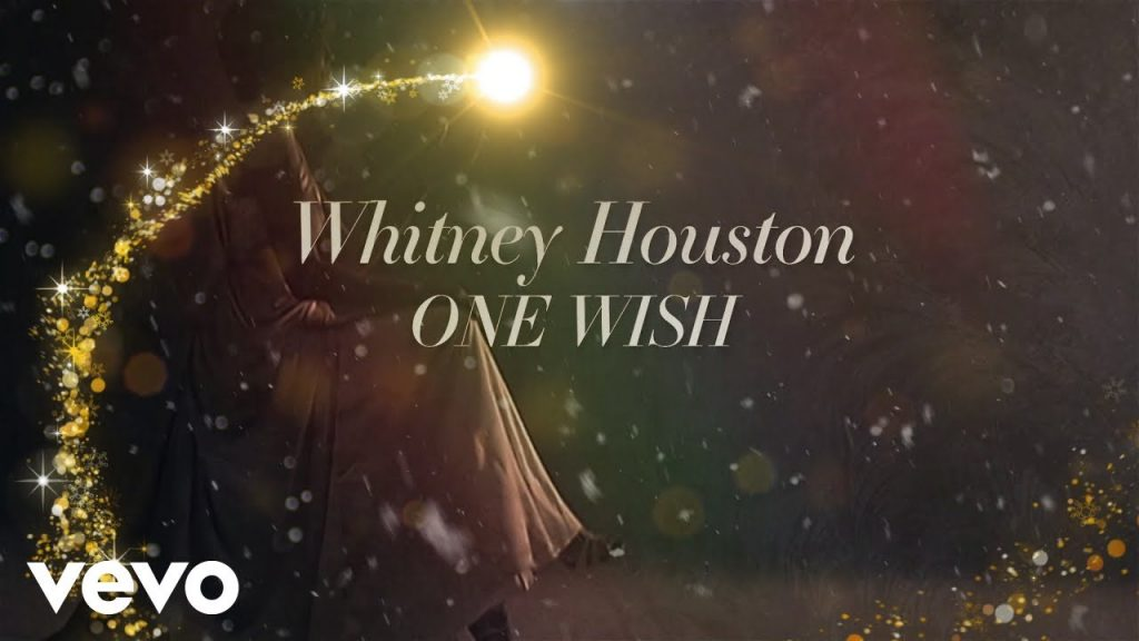 Whitney Houston - One Wish (For Christmas) official lyric video